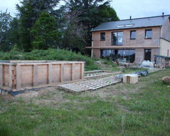Assainissement maison en bois