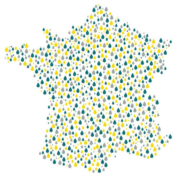 Réseau Aquatiris français