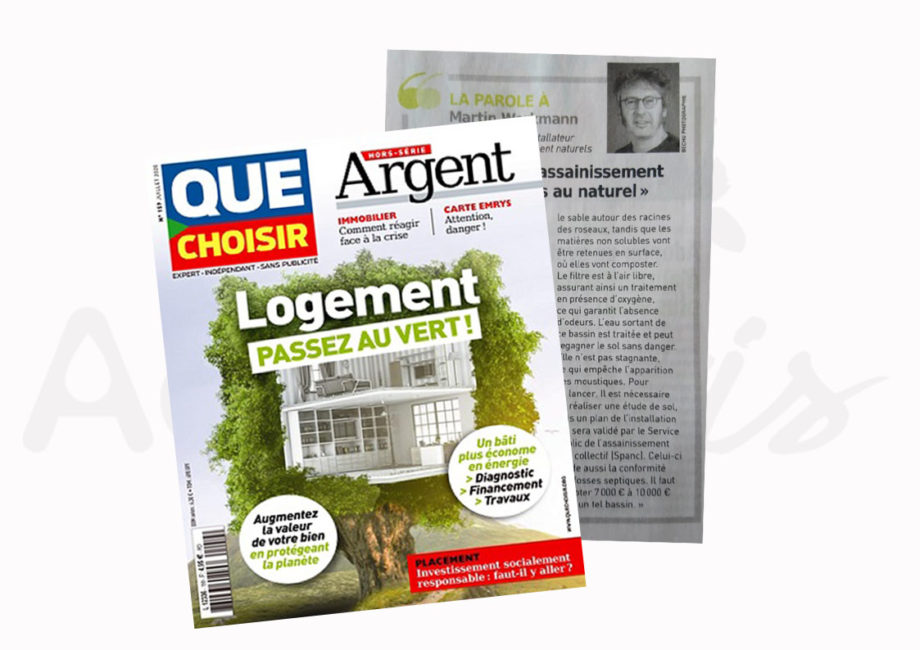 Magazine Que choisir